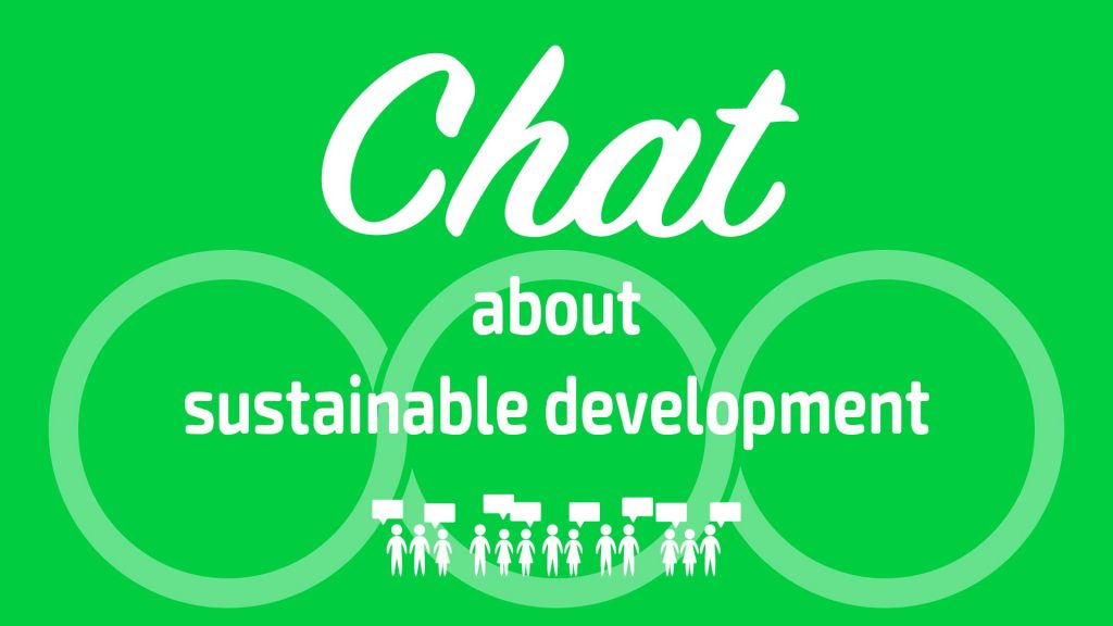 chat about sustainable development