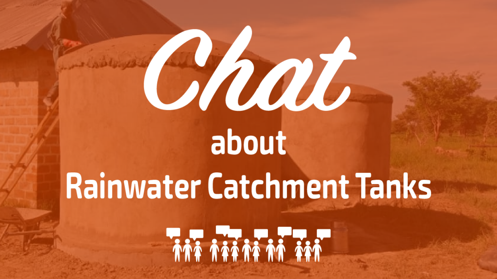 Chat about Rainwater Catchment Tanks