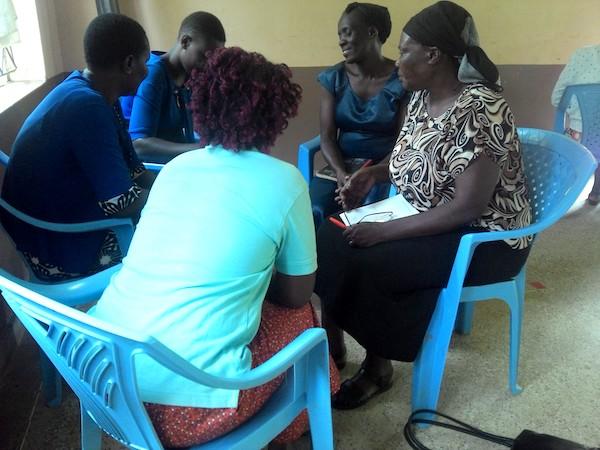 Matsakha community engagement group conversation