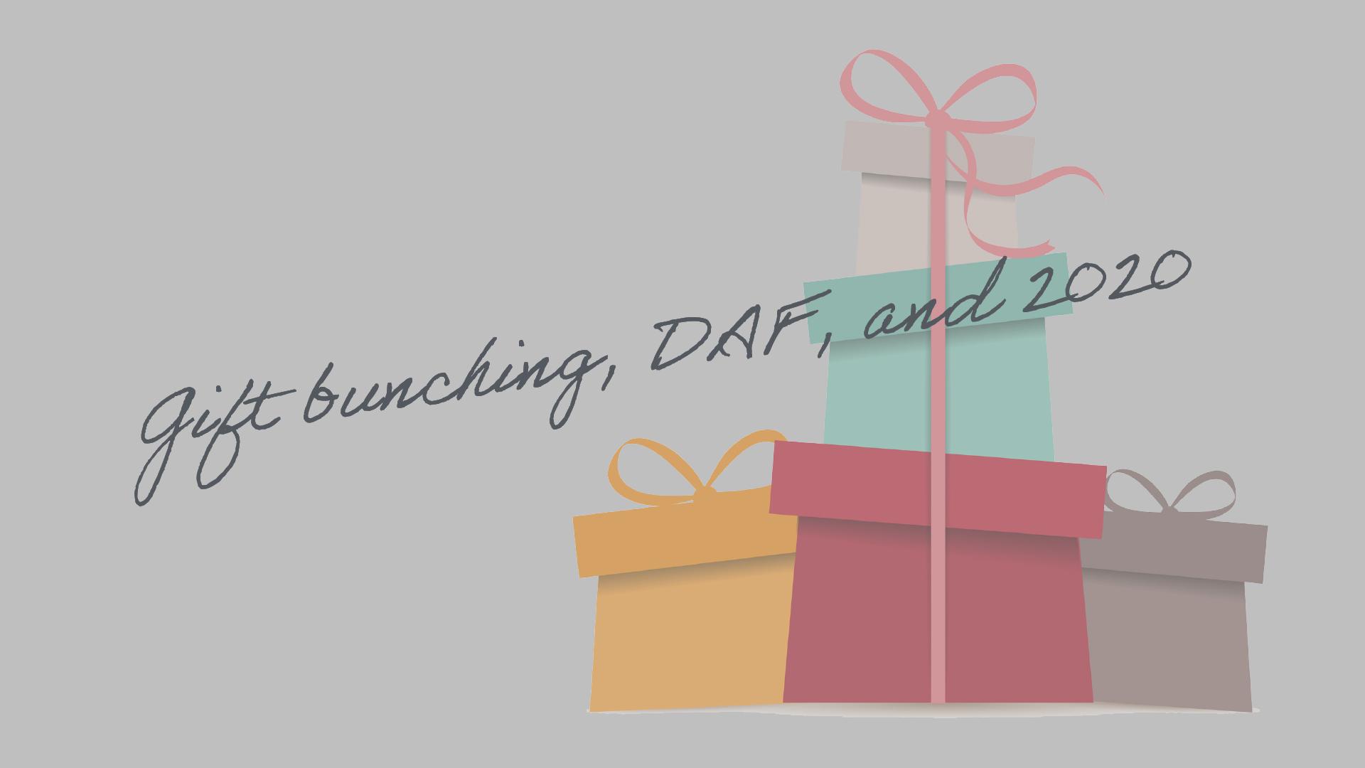 Gift bunching