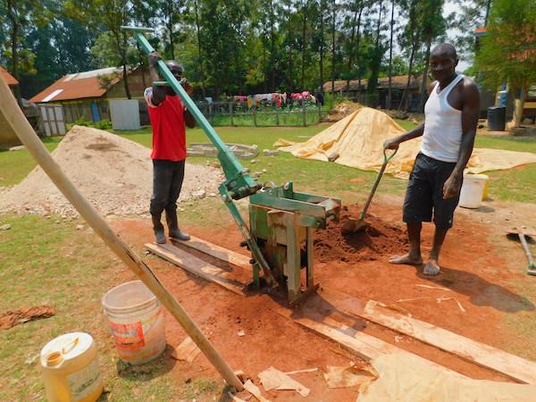 kakamega brick making press