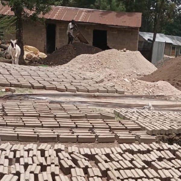kambiri straight bricks curing