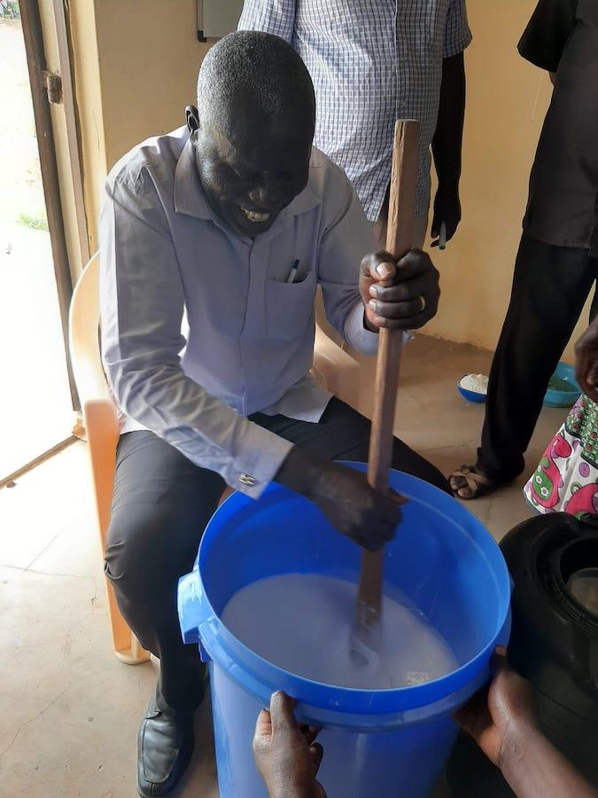 matsakha soap making alfred muyumba