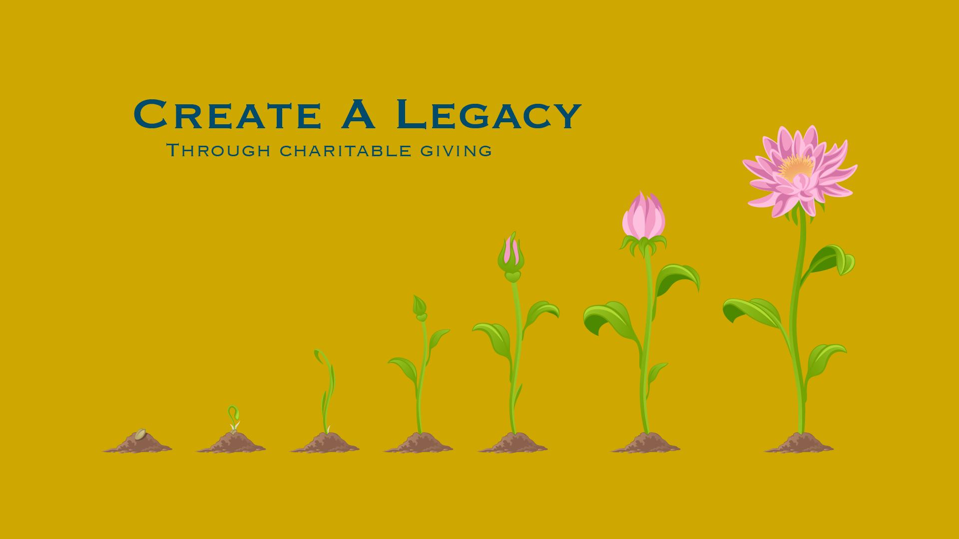 Create A Legacy Through Charitable Giving