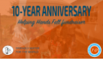 10-year anniversary event