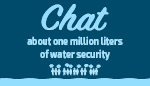 Chat about one million liters of water security